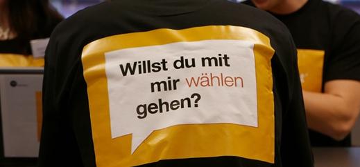 """Schüler eröffnen Hamburgs ersten """"Wahl-O-Maten"""""""
