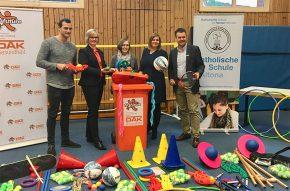 Senatorin Fegebank startet fit4future an der Katholischen Schule Altona
