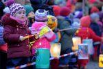 Tausende Hamburger Grundschüler feiern St. Martin