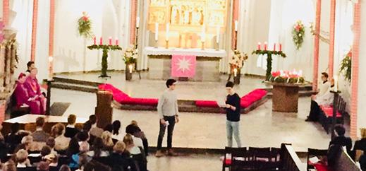 Abiturienten-Gottesdienst mit Weihbischof Eberlein