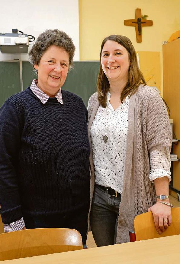 Zwei Lehrerinnen im Generationen-Interview
