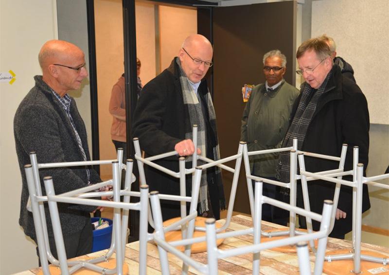 Gespräch mit Weihbischof Horst Eberlein