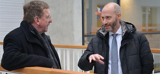 Im Gespräch mit Weihbischof Horst Eberlein