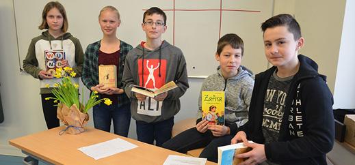 Literaturtag am Niels-Stensen-Gymnasium