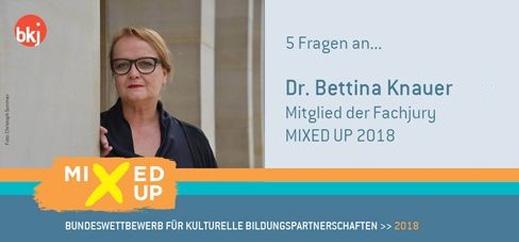 """Knauer: """"Kulturelle Bildung kein Nischenprojekt"""""""