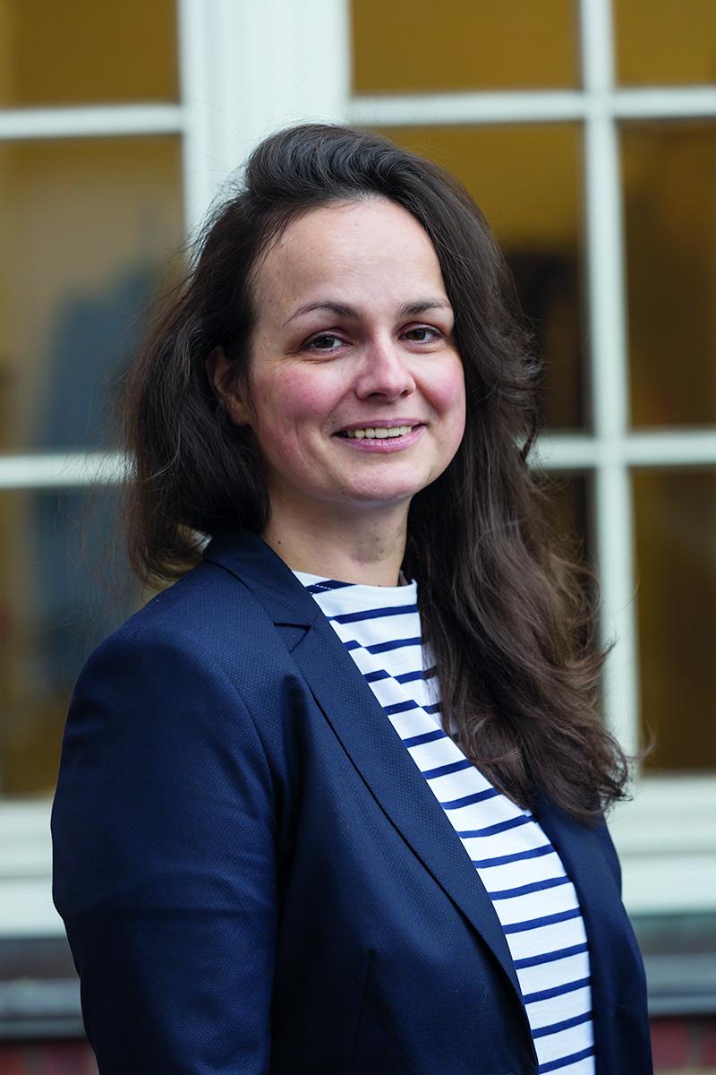 Miriam Sereh Klüsener, Leiterin des Referates 2