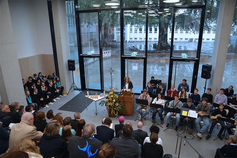 Neubau der Sophie-Barat-Schule eingeweiht