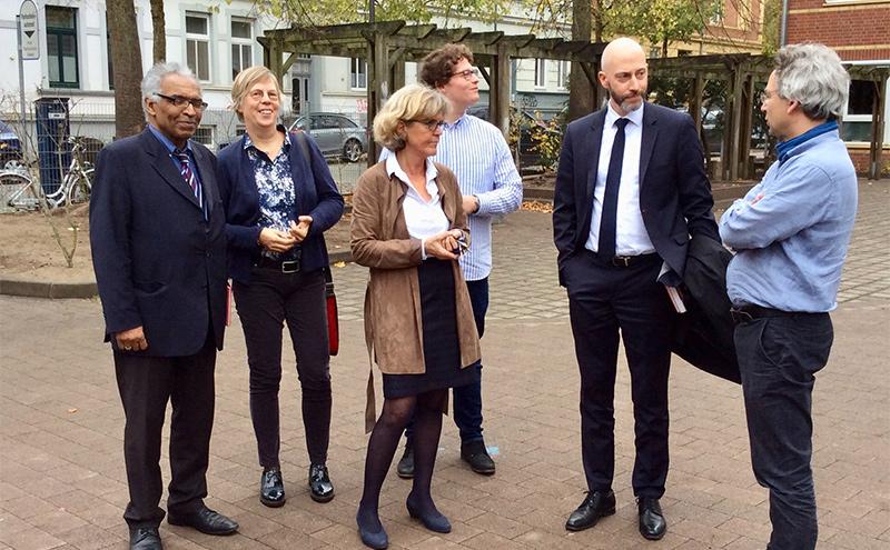 Besuch der Niels-Stensen-Schule in Schwerin