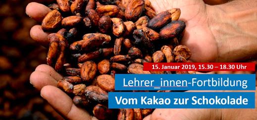 Fortbildung: Vom Kakao zur Schokolade