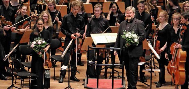 Ausverkauft! Sophie-Orchester in der Elbphilharmonie