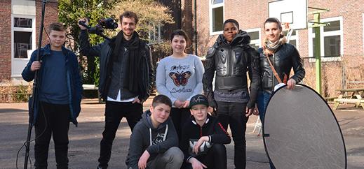 Filmprojekt: Androide an der Franz-von-Assisi-Schule