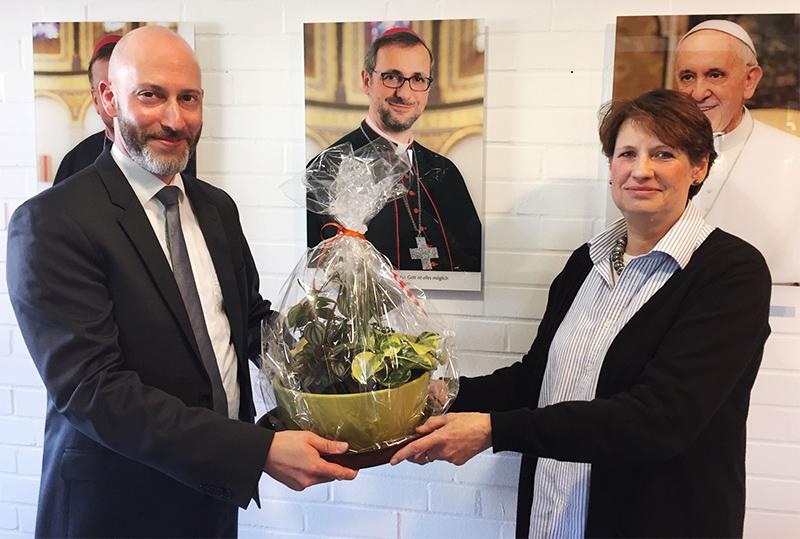 Abschied von Referatsleiterin Marion Wolters