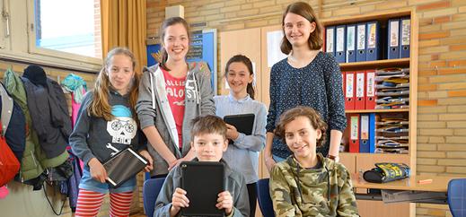 Medienscouts schulen Viertklässler der Katholischen Sophienschule