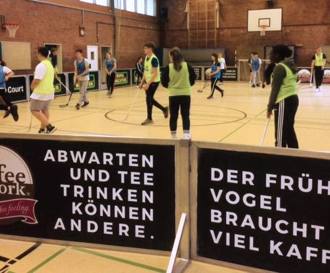Mega-Sport-Event mit 450 Schülern am Dom