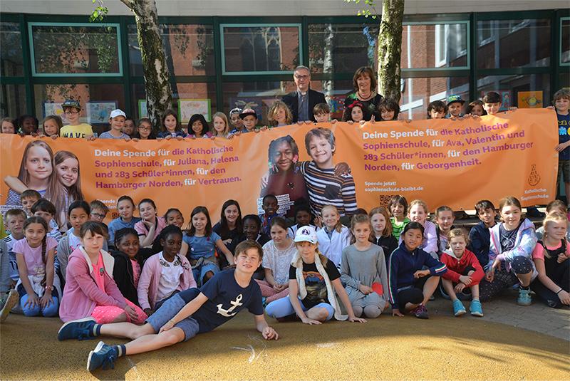 Kampagnenstart für Neubau der Katholischen Sophienschule