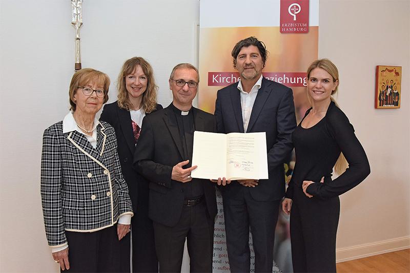 """Heße: """"Ein wesentlicher Beitrag zum Erhalt der Sophienschule"""" – Familie Franke unterstützt geplanten Neubau mit Millionenspende"""