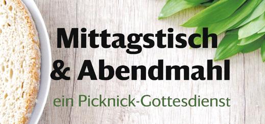 Picknick-Gottesdienst am 29. September!
