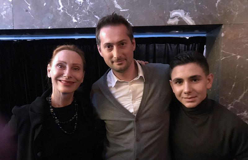 """""""Zoros Solo"""" – Altonaer Schüler treffen Schauspielerin Andrea Sawatzki"""