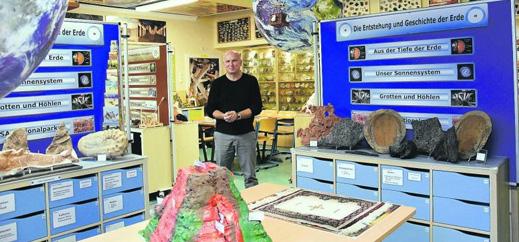 Das ganze Geosystem Erde in einem Klassenraum