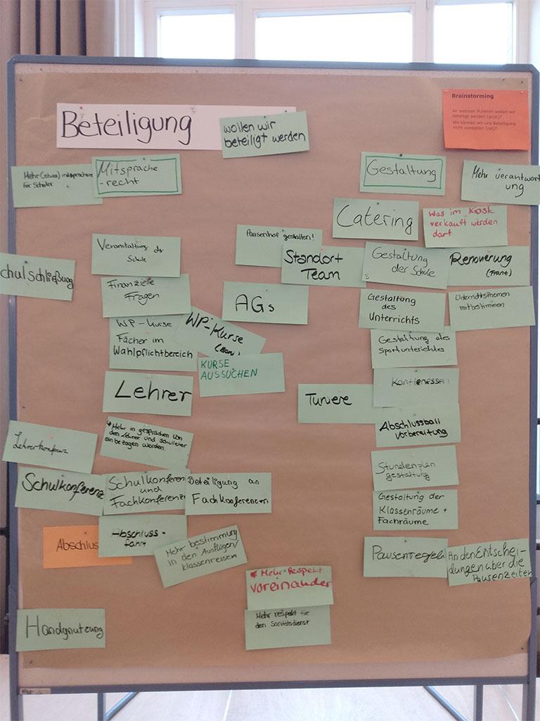 Schüler_innen-Workshop für mehr Mitbestimmung in der Schule
