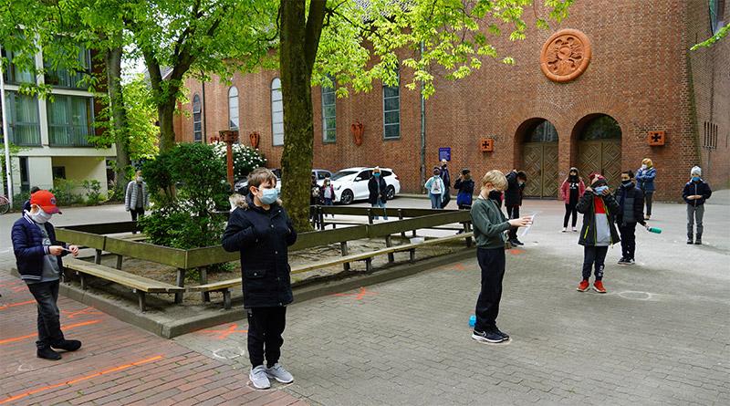 Donnerstag ist Friedensgebets-Tag an den katholischen Schulen.