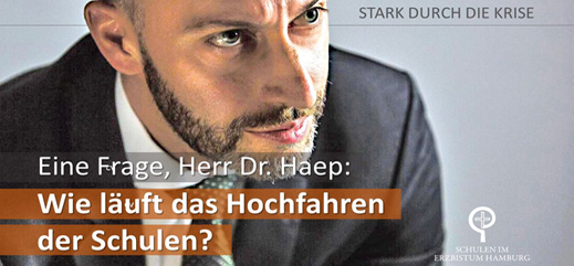 """""""Eine Frage, Herr Dr. Haep …"""""""