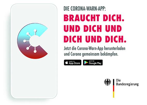Jetzt downloaden: Corona-Warn-App!