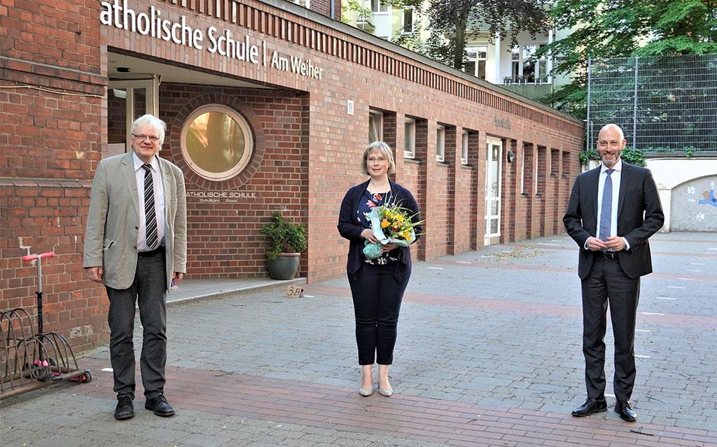 Katholische Schule Am Weiher: Susanna Baum übernimmt Schulleitung von Dieter von Böhlen