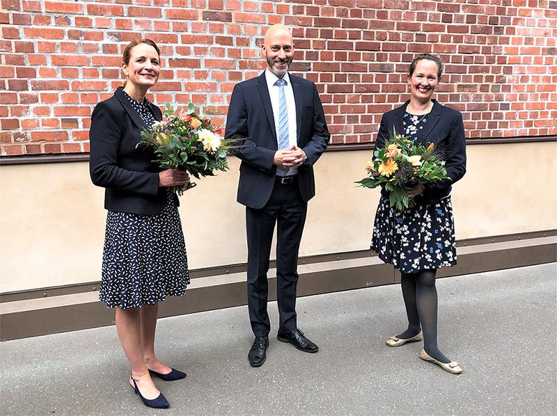Schulaufsicht katholische Schulen Hamburg: Herzlich willkommen im Team, Katja Hattendorf und Christine Wieckenberg!