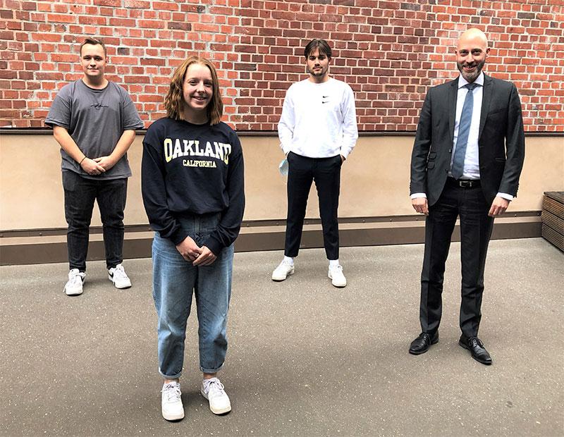Neues Sprecherteam der Gesamtschülervertretung gewählt