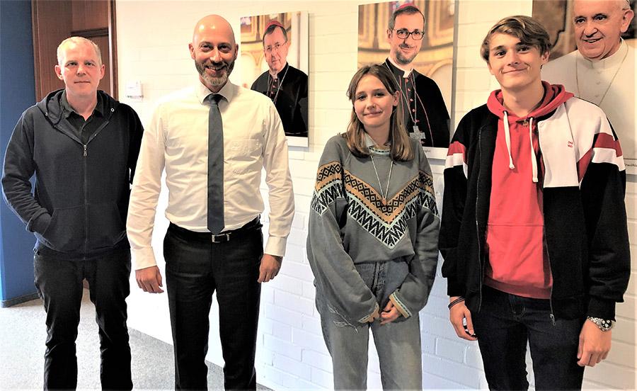 Zusammenarbeit zwischen Katholischer Studierender Jugend (KSJ) und katholischen Schulen gefestigt