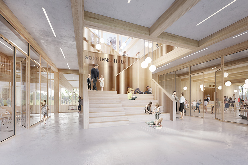 Erzbistum Hamburg stellt Neubau-Planung für Sophienschule vor
