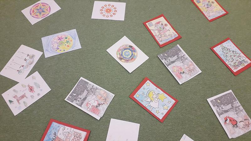 """""""Ich denk an Dich"""": Malen und basteln für ältere Menschen"""