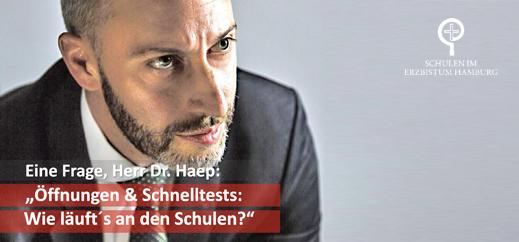 """""""Öffnungen & Schnelltests: Wie läuft´s an den Schulen?"""