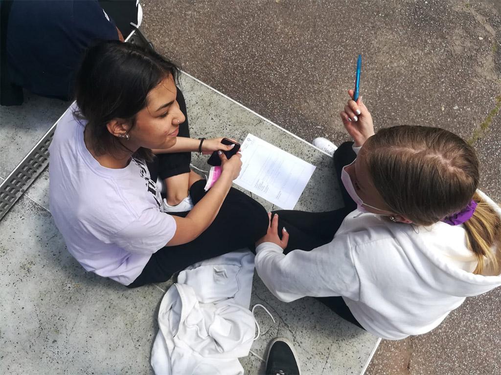 Berufsorientierung in Corona-Zeiten an der Franz-von-Assisi-Schule
