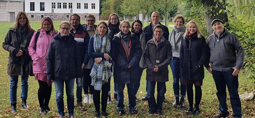 Lehrkräfte im Weiterqualifizierungsstudiengang trafen sich in Nütschau