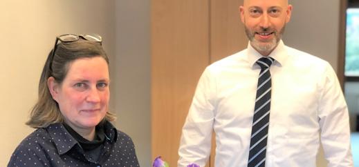 Marion Karg ist neue Leiterin des Referates Schulaufsicht